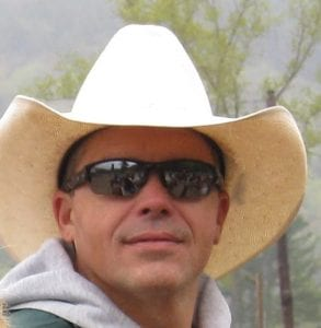 Picture with cowboy hat