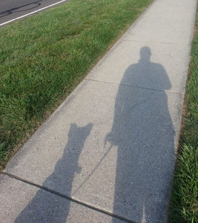 Dennis and Dakota shadow