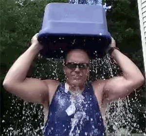 Dennis does the Ice Bucket Challenge