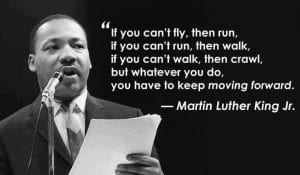if you can't fly, then run...""