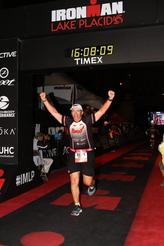 Dennis - IRONMAN Lake Placid - Finish