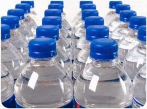 Hurricane Preparedness - bottles of water